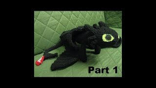 How To Crochet Toothless Part 1