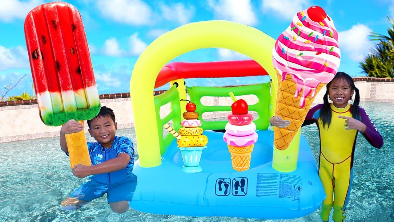 Wendy Friends Pretend Play With Ice Cream Kids Toys By