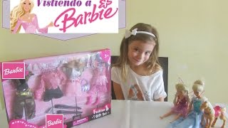 Vestir a Barbie - Juegos de Barbie - Dressing Barbie