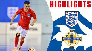 England Futsal 6-4 Northern Ireland Futsal | Highlights | Home Nations Championship | Futsal Lions