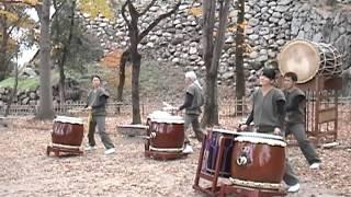 【サヌカイト<<<和太鼓】岡山芸術回廊2012.11/24