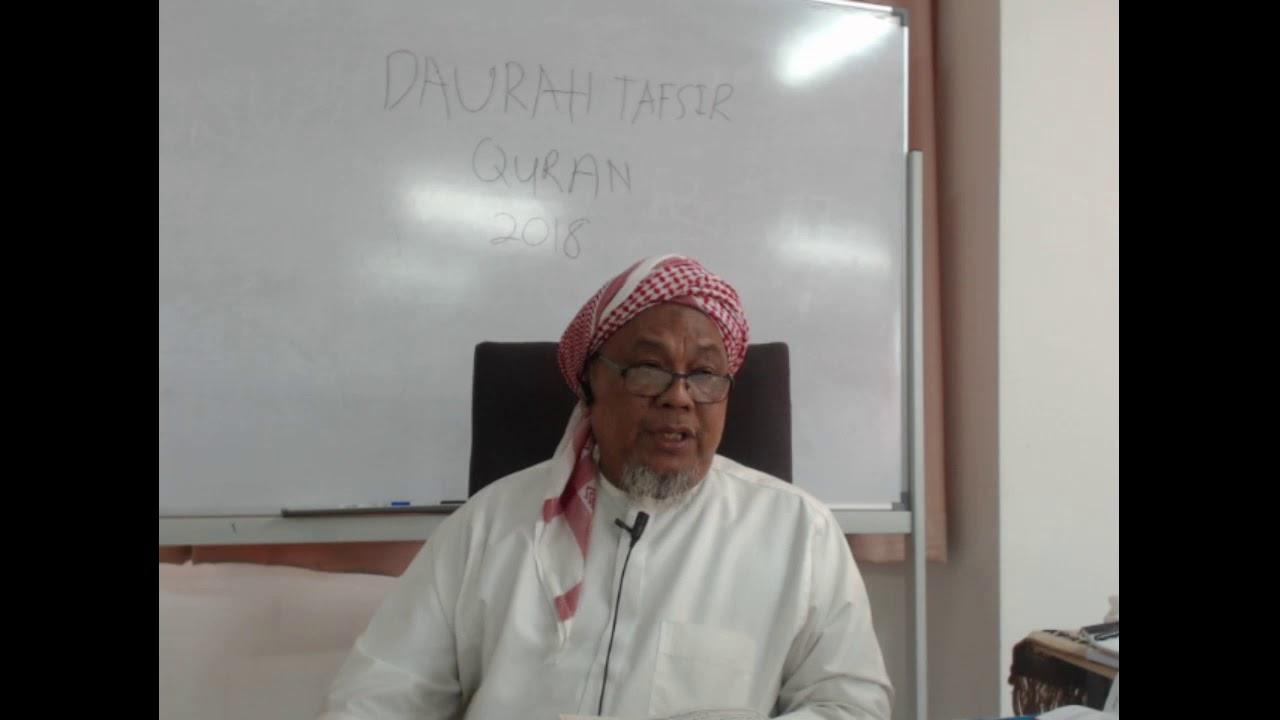 Download DAURAH TAFSIR  QURAN DI MADRASAH TAFSIR SUNNAH 2018 SESI 2  PAGI  ( 1-5-18)