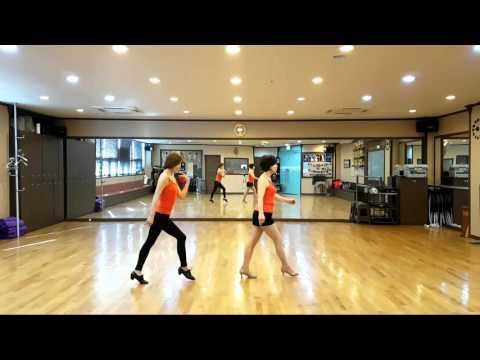 Sunshine Day Line Dance (High Beginner)