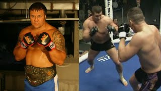 RUSSIAN HAMMER in 15 seconds knocked out the GIANT from Holland! Roman Zentsov and his cannon strike