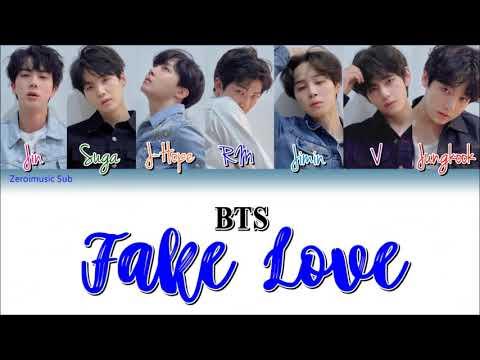 BTS (방탄소년단) - Fake Love - 가사 (Sub español+Eng Sub+Lyrics+Colorcodedlyrics)(Teaser) BBMAs Sneak Peek