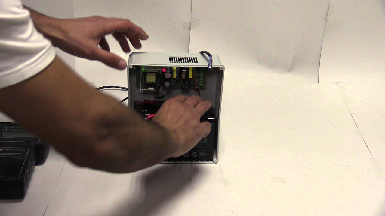 Замеряем емкость аккумулятора ALARMFORCE FB 7-12