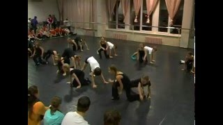 Открытый урок Танц-Лагеря «Зима-2012»