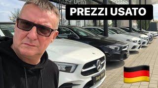 PREZZI AUTO USATE in GERMANIA (AUDI-MERCEDES-VOLKSWAGEN)