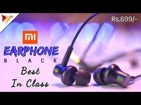 Mi Earphones Black | Best In Class Earphone With Remote at Rs.699/- | Data Dock