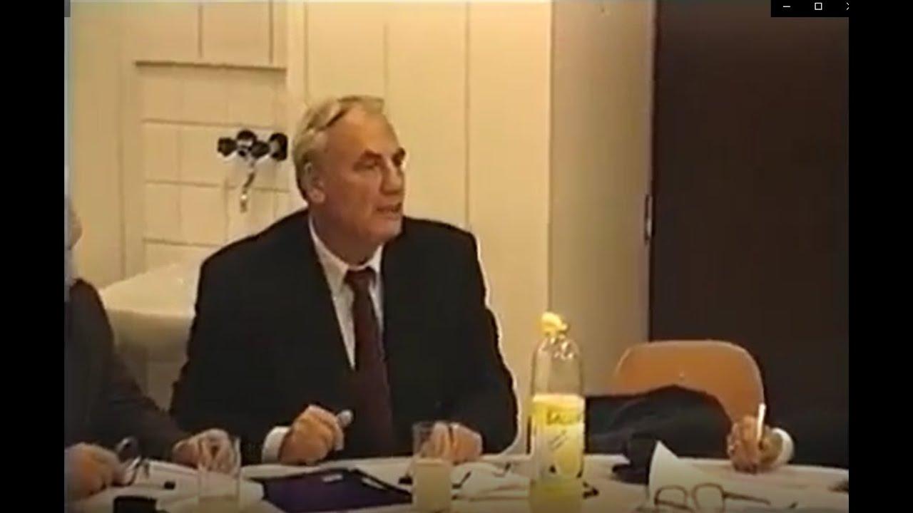 Habilitation - Tale i Trnava 1998, Dr. med. Ryke Geerd Hamer