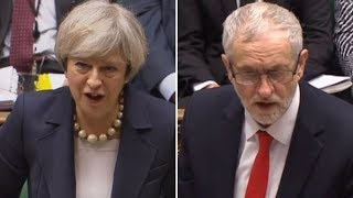 PMQs in full: SNP MPs walk out as Theresa May faces Jeremy Corbyn over Brexit | ITV News