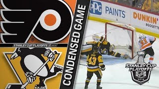 Philadelphia Flyers vs Pittsburgh Penguins – Apr. 11, 2018 | Game 1 | Stanley Cup 2018. Обзор