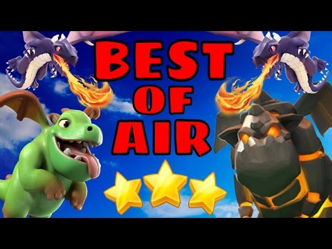 Clash of Clans | Top 3 Air Attack Strategies 2017 + CWL Week 1 Recap w/ FoG!