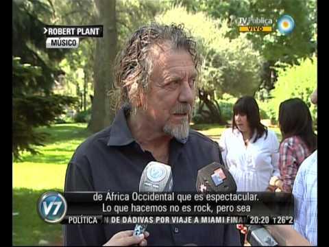 Visión 7: Robert Plant en la Argentina