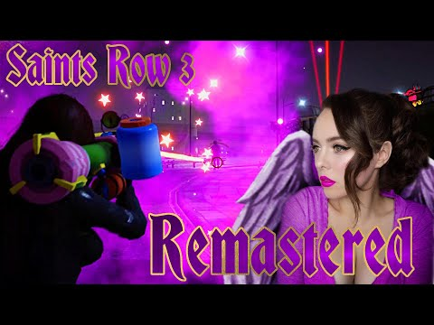 SAINTS ROW 3 REMASTERED!  | But Cheats Give Me A MOLLUSK LAUNCHER!