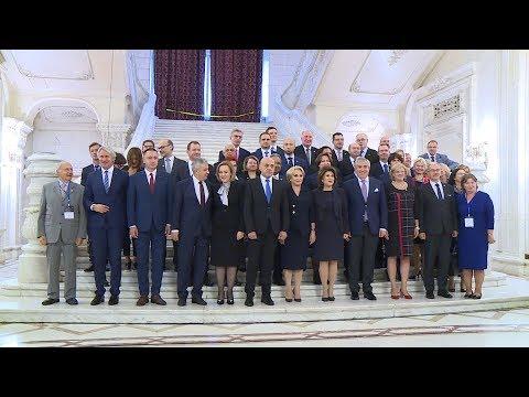 10/30/18: Palatul Parlamentului - Participare la conferința la nivel înalt