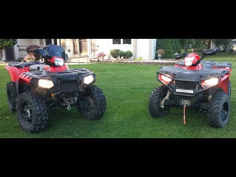 Comparing The Sportsman 570 to The Sportsman 550!