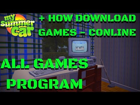COMPUTER - ALL GAMES AND PROGRAM - My Summer Car #115 - 동영상