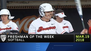 Oregon State's Hope Brandner earns Pac-12 Softball Freshman of the Week accolades