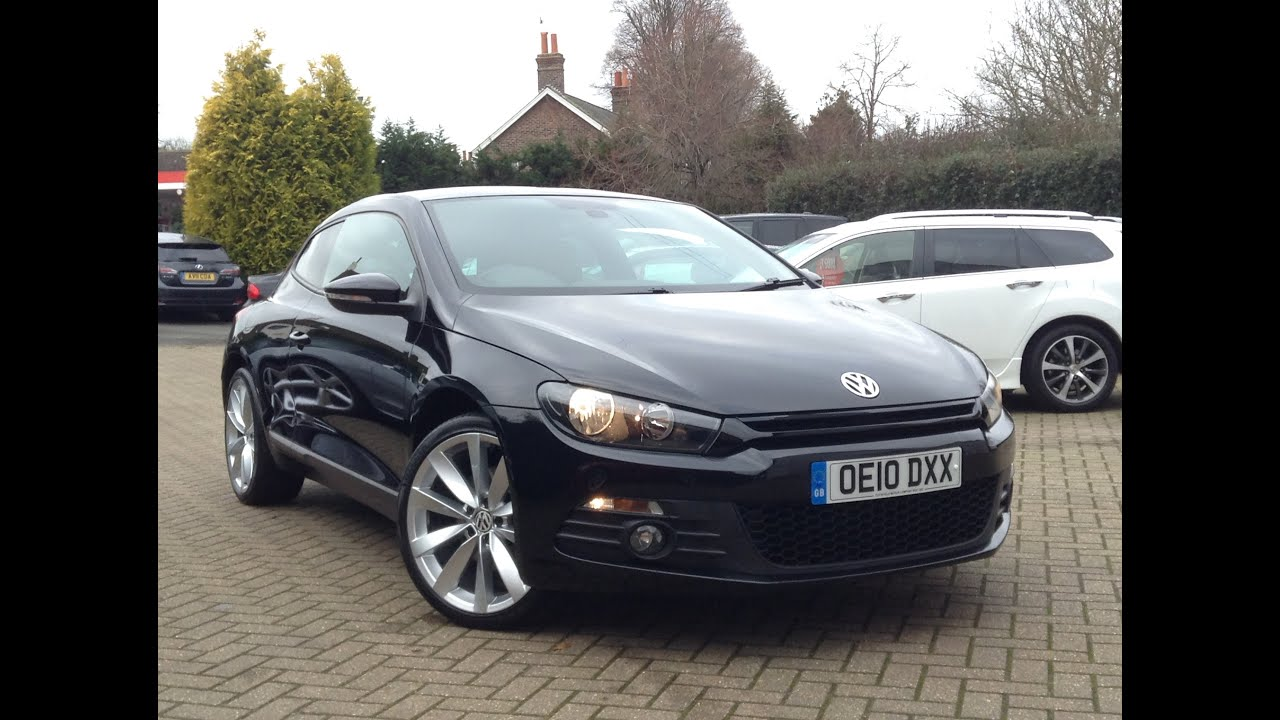 volkswagen scirocco 2 0 tdi gt 3dr for sale at cmc cars near brighton sussex youtube. Black Bedroom Furniture Sets. Home Design Ideas