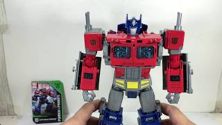 Transformers Power of the Primes Optimus Prime Chefatron Toy Review