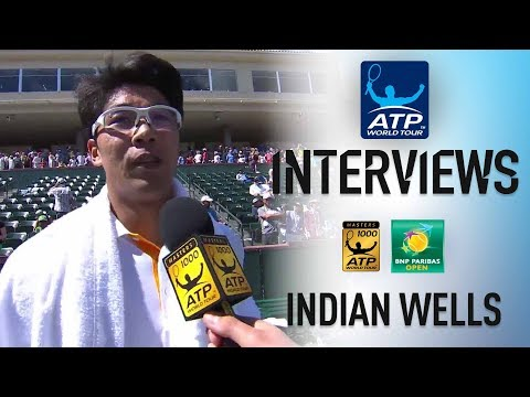 Chung Makes First Masters 1000 QF Indian Wells 2018