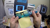 2c74806718 Chris s RayBan 7017 with Rx Anti Glare Lenses - YouTube