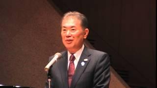 いちむら隆後援会総決起大会 鈴木俊美栃木市長
