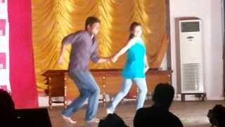 iddarammayilatho  violin song dance performance @ NITW