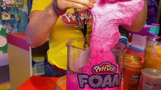 New Play-Doh Compounds -- Cloud, Foam, Slime and More