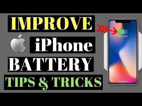 Improve iPhone Battery Life(Tips & Tricks)