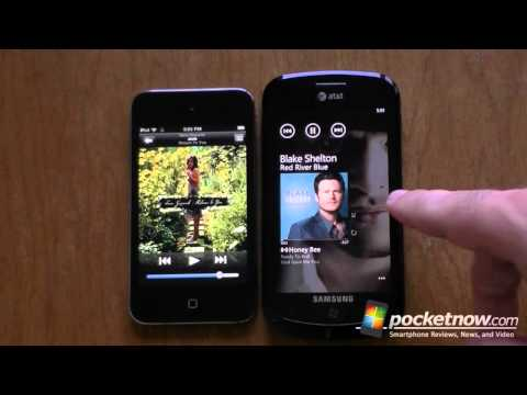 Apple vs Mango: Lock Screen, UI Design, Multitasking, App Stores, Music Player, and Browser