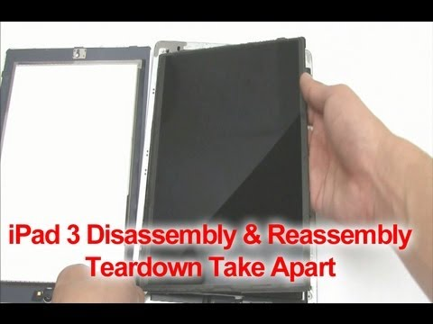 How to iPad 3rd Generation Screen Replacement