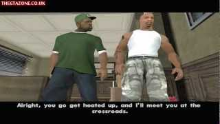 GTA San Andreas - Mission #28 - The Green Sabre (HD)