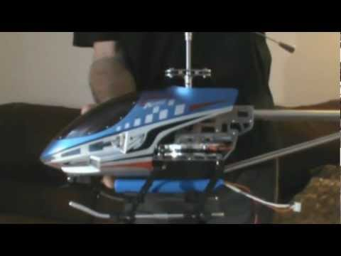 Sky King Rc Heli additional power pack installation
