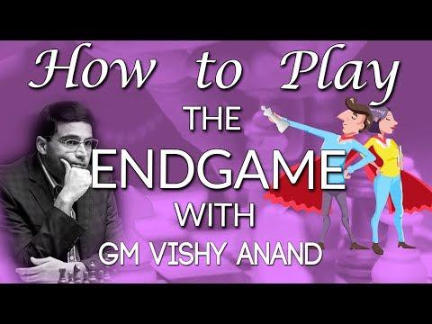 World Chess Champion 🏆 Viswanathan Anand Teaches Chess Endgames [chess24]