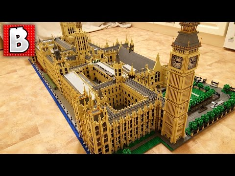 50,000 LEGO Parts!!! Palace of Westminster | TOP 10 MOCs
