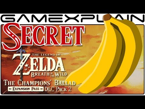 Banana Trick SECRET in Zelda: The Champion's Ballad Boss Fight (Breath of the Wild DLC Pack 2)
