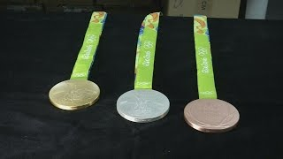 Medals that rattle: Official Rio 2016 Olympic medals