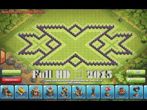 Clash of Clans - Epic TH9 Triple xXx Farming Base ➞Speed Build