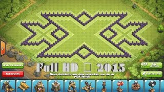 Clash of Clans - Epic TH9 Triple xXx Farming Base ➞Speed Build