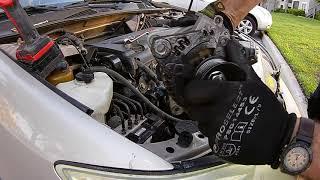 #66 Заміна генератора на Toyota Camry 2.4 2004 р. Зробився автомеханіком!