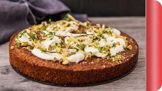 Pistachio Citrus Drizzle Cake Recipe