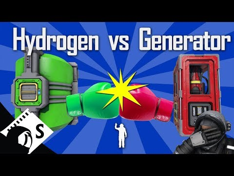 Space Engineers Testing: Oxygen Generators vs Hydrogen Tanks (tutorials, tips,  testing in survival)