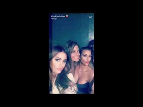 Kim Kardashian Parties in Vegas with Larsa Pippen and Friends