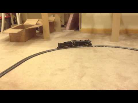 TCS WowSound testing in Lionel American Flyer S scale 2-8-2 Mikado