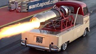 Download Video Oklahoma Willy Jet Bus - 1/4 mile run at Santa Pod Raceway MP3 3GP MP4