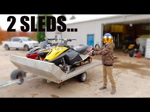 I BOUGHT A SNOWMOBILE!!! BIG MISTAKE | ALREADY PROBLEMS