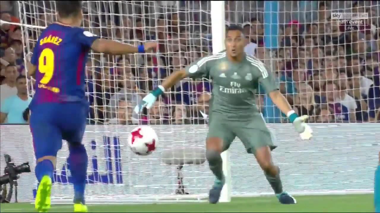 Barcelona vs Real Madrid 1-3 piala super spanyol - YouTube