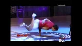 Bboy Fishy OFFICIAL Jackhammer Hops  Guinness World Record 2013